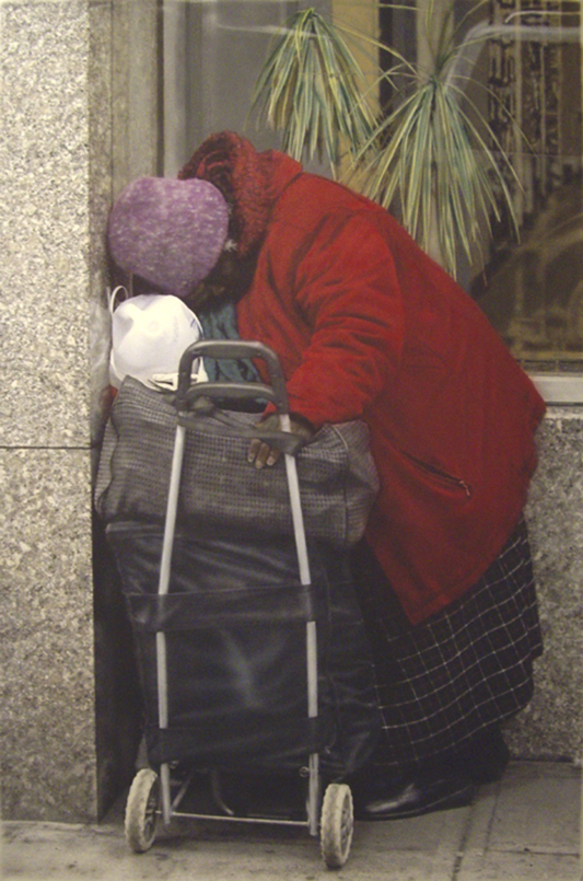 Photorealism NYC painting MOMA by Denis Peterson